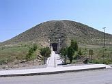 Mohyla - hrobka kráľa Gordia, Mídasovho otca, Ankara, Turecko