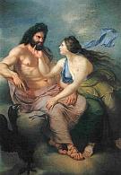 Zeus a Thetis