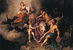 Héra objavila Dia s Íó