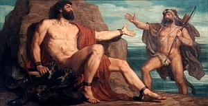 Prométheus a Héraklés