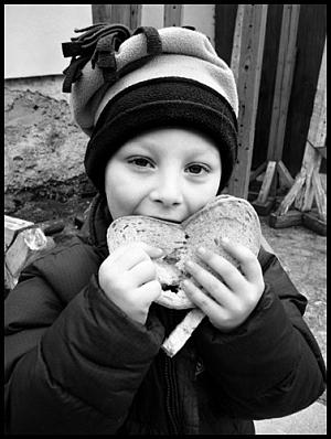 mastný chleba