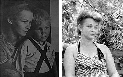 Tatiana Jesenina so synom Voloďom, Taškent 1948 a 70-te roky